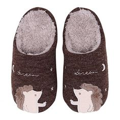 Cute Family House Slippers Dog Cat Hedgehog Penguin Animal Indoor Home Slippers Winter Fuzzy Bedroom Slippers For Kids - Get this pair of cute animal clog house slippers that fits your active lifestyle! Funny quotse home slippers, feel good every day . Care Instructions: ·The product is both hand and machine washable. ·A water temperature of 30 degree centigrade is recommended to achieve the best result. ·Air dr...