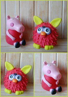NONA'S Candy: furby y Peppa Pig fondant
