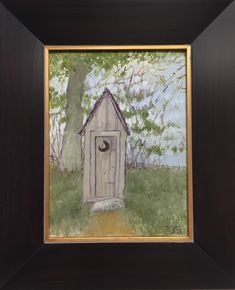 "49 Likes, 3 Comments - The Boyd Gallery (@theboydgallery) on Instagram: ""Fresh of the easel... Outhouse by #oldboyd 9x12, #oilpainting $400 and we deliver anywhere in the…"""