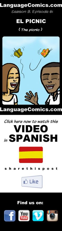 #Spanish practice and pronunciation. Enjoy and share! https://youtu.be/P2p3e4Mh3ho