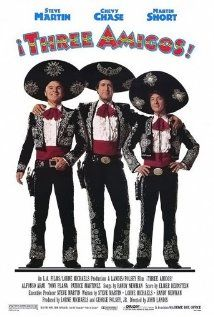 Three unemployed actors accept an invitation to a Mexican village to replay their bandit fighter roles, unaware that it is the real thing.