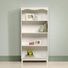 Sauder Storybook Bookcase, Soft White - Walmart.com