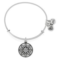 Star Of Venus Charm Bangle  Love • Beauty • Inspiration The Star of Venus is the light of beauty, the Goddess of Love's bright star. Shining from the evening sky to the morning's first light, she subtly awakens our consciousness and the perpetual light within us. Alluring and powerful, Venus raises all living things to a higher vibration.