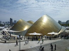 Dezeen » Blog Archive » UAE Pavilion at Shanghai Expo 2010 by Foster + Partners