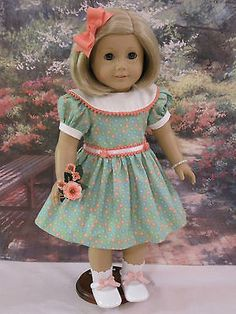 """Susie's 18"""" Doll Clothes Fit American Girls Kit Molly Julie Caroline 