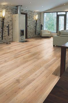 Karelia Oak Stonewashed Ivory Full Plank   Silverwood Flooring   Toronto