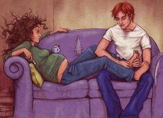 Ron and Hermione Fan Art!!!!