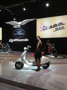 Official Launch Vespa 946. Eicma 2012 Milan