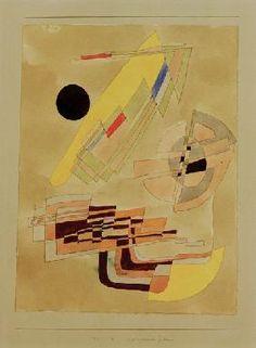 Paul Klee - Physiognomische Genesis, 1929,