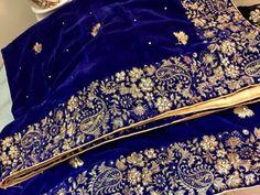Velvet shawls available😍 Velvet Dress Designs, Embroidery Suits Punjabi, Pakistan Wedding, Velvet Shawl, Maggam Work Designs, Evening Shawls, Bridal Shawl, Bridal Lace, Hand Work Embroidery