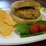 Southwestern Turkey Burger with lettuce ,yum