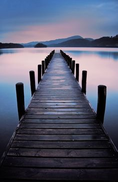 Coniston Jetty - Jetty on Coniston Water , Lake District Long exposure after a light rain shower Beautiful Nature Wallpaper, Beautiful Landscapes, Nature Pictures, Cool Pictures, Landscape Photography, Nature Photography, Sunset Wallpaper, Landscape Illustration, Aesthetic Backgrounds