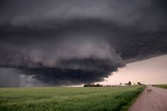 This is a beautiful pic of the remnants of the a Wyoming tornado in 2009.