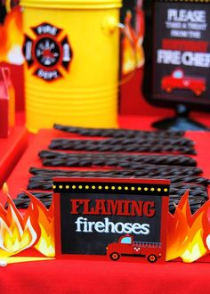 Fire Fighter Birthday Party Ideas | Photo 20 of 112