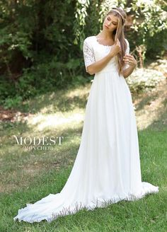 c79de1105e8 Modest Wedding Dress Coll. 5 Totally Modest WEDDING dresses