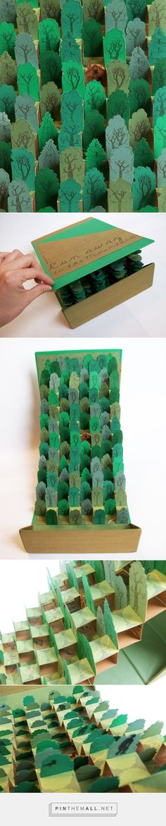 Run Away to the Mountain: Pop Up Book by Jacy Nordmeyer