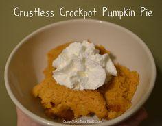 Crustless Crockpot Pumpkin Pie#Repin By:Pinterest++ for iPad#