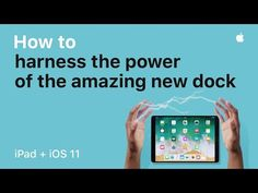 Apple has released several videos today showing Apple iPad, iPad Pro and iOS 11. The first video shows how to take advantage of the new features of the dock. You can customize the dock by dragging more applications. It will also display the last application you used on your tablet, on your...