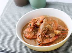 Your usual shrimp dish is made more flavorful with coconut milk and adobo sauce. Adobong Hipon sa Gata
