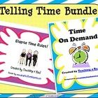$ Skill: Elapsed Time, Interval Time, Problem SolvingStrategy: Timeline Rulers, Time on DemandThis bundle includes two of my telling time product...