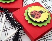 these are adorable for a ladybug party..lollipop toppers...on etsy!!