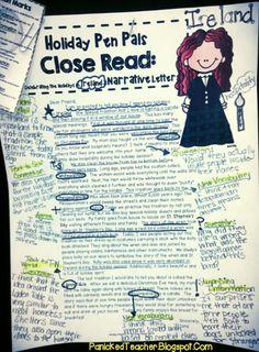 Teacher Model for Close Reading!