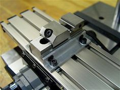 Nice design for the vise clamps - I think I will make a pair for my Unimat milling setup.