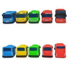 2016Selling 5pcs/set Korean Cute Tayo the little bus mini Rubber oyuncak araba car model tayo bus for kids gift educational toy #>=#>=#>=#>=#> Click on the pin to check out discount price, color, size, shipping, etc. Save and like it!