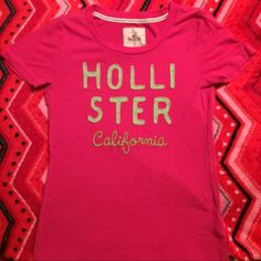 Hollister ~ Pink Tee ~ Size Small Hollister ~ Pink Tee ~ Size Small Hollister Tops Tees - Short Sleeve