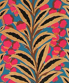 Flowers and Foliage Print