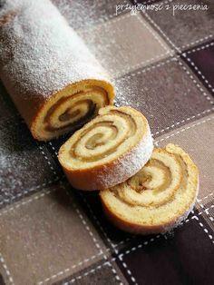 Polish Desserts, Polish Recipes, No Bake Desserts, Polish Food, Tasty, Yummy Food, Tart Recipes, Pumpkin Cheesecake, Pavlova