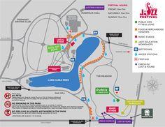 Map of May 2014 Atlanta Jazz Festival Activities at Piedmont Park Stuff To Do, Things To Do, Fun Stuff, Piedmont Park Atlanta, Jazz Festival, Exercise For Kids, Travel Tours, Atlanta Georgia, Art For Kids