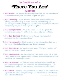 """When you walk into a room, kkkkkll k m lk. I do you make a """"Here I Am"""" entrance or a """"There You Are"""" entrance? Read these 10 Qualities of There You are woman.[ The House of Hendrix} Feminine Energy, Divine Feminine, Sacred Feminine, How To Be Feminine, How To Be Classy, Lady Rules, Etiquette And Manners, Act Like A Lady, Being A Lady"""