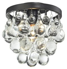 "Bathroom Lighting Brands schonbek bagatelle collection 10 1/2"" wide crystal pendant"