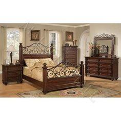 San Marcos Bedroom   Bed  Dresser   Mirror   Queen  872    Bedroom   wrought iron and wood bedroom sets l 8221d049320c1b79 . Conns Bedroom Sets. Home Design Ideas