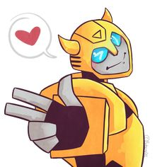 """rungs-eyebrows: """"Cuz it's nine in the afternoon, Your eyes are the size of the moon~ """" Now that's cute. Transformers Bumblebee, Transformers Prime, Alien Soldier, Transformer Party, Cyberpunk Art, Sound Of Music, Tmnt, Nerdy, Geek Stuff"""