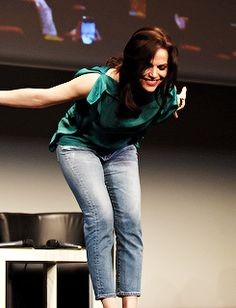 Lana Parrilla at Fairytales IV, Paris, June 18, 2016