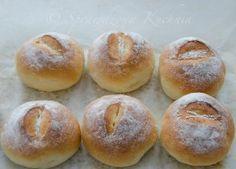 Puszyste bułeczki przepis   Sprawdzona Kuchnia Hamburger, Food, Buns, Breads, Noodle, Bread Rolls, Essen, Bread, Burgers