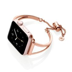 Mia - Watch - Ideas of Watch - Our Mia Apple watch bracelet is the perfect accessory for your wardrobe. Browse The Ultimate Cuff online today to find the best selection of Apple watch bands cuffs & more. Apple Watch Bracelet Band, Apple Watch Cuff, Rose Gold Apple Watch, Gold Watch, Trendy Watches, Cool Watches, Watches For Men, Women's Watches, Wrist Watches