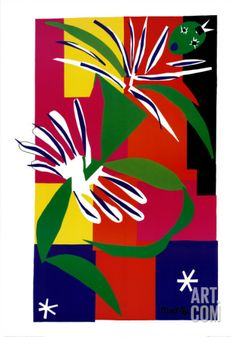 Creole Dancer, c.1947 Art Print by Henri Matisse at Art.com