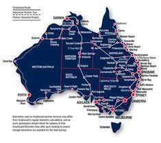 The Perfect East Coast Australia Road Trip Itinerary Australia Map of the popular routes traveling around Australia Australia Map, Visit Australia, Western Australia, Sydney Australia, Gold Coast Australia, Australia Honeymoon, Australia Travel Guide, Victoria Australia, Travel Oz