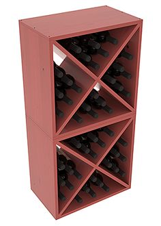 48 Bottle Wine Cube Collection | Living Series™ Wine Rack