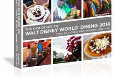 The Disney Food Blog Guide to Walt Disney World Dining 2014