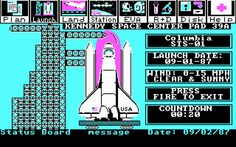 Download Project: space station vehicle simulation retro game - Abandonware DOS