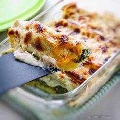 Italian Backed Pasta Cannelloni & Ricotta...
