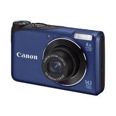 """Canon PowerShot A2200 Appareil Photo Numérique 14,1 Mpix Mode """"Smart Auto"""" Bleu: Amazon.fr: Photo & Caméscopes"""