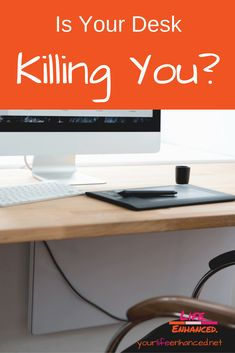 Is your desk killing you? How much time do you spend sitting? The average American sits for hours a year. That& a LOT of sitting! Small Business Resources, Talent Management, Your Life, Workplace, Life Lessons, Leadership, Challenges, Desk, Learning