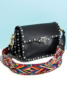 Womens Purses : Embrace your inner rock star with this guitar rolling rockstud bag Womens Purses : Embrace your inner rock star with this guitar rolling rockstud bag It Bag, Valentino Rockstud Bag, Valentino Bags, Gucci, Givenchy, Fendi, Kelly Bag, Guitar Strap Bag, Fashion Bags