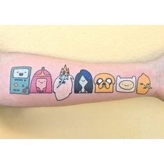 38 Adventure Time Tattoos That Are Actually Best Buds For Life