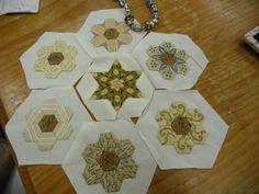 Small Hexagonsand Star  Karen Styles http://4.bp.blogspot.com/-O8-lU-PGpb8/UQt-813UHTI/AAAAAAAACFg/YWX8GdF6QzM/s1600/CIMG1289.JPG
